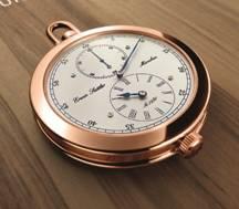 Erwin Sattler - Orologio da tasca oro rosa