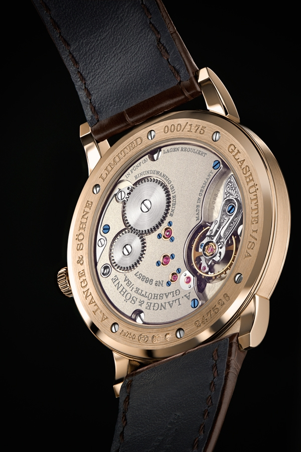 """A. Lange & Söhne Special Edition  """"Homage to F. A. Lange""""  1815 Thin_Honeygold"""