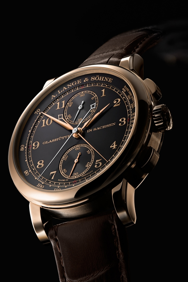 """A. Lange & Söhne Special Edition  """"Homage to F. A. Lange"""" 1815 Rattrapante_Honeygold"""