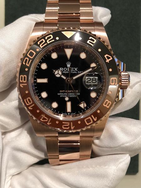 Rolex GMT-Master II Oro Rosa
