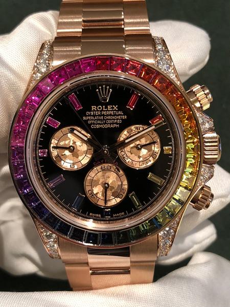 Rolex Daytona Rainbow Oro Rosa
