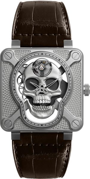 BELL & ROSS BR 01 Laughing Skull