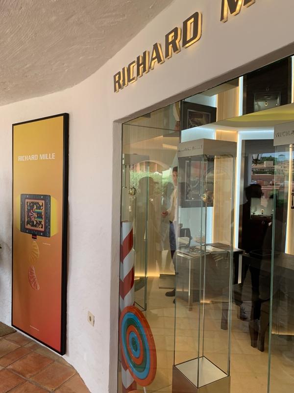 Boutique Richard Mille a Porto Cervo