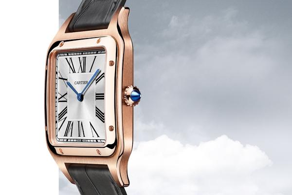 Cartier Santos-Dumont XL di profilo