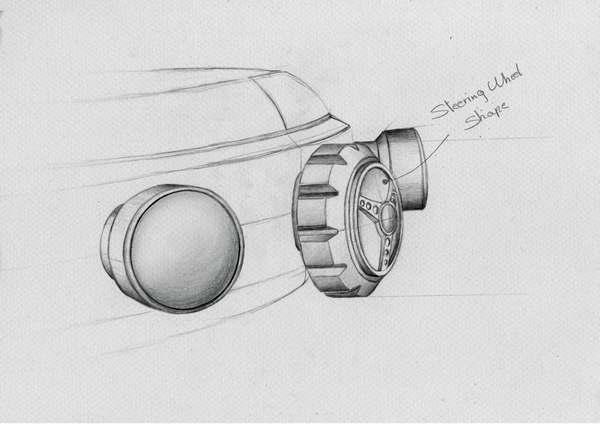 Chopard Mille Miglia Race Edition 2020 sketch