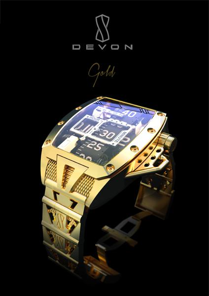 Devon Tread 2 - Gold