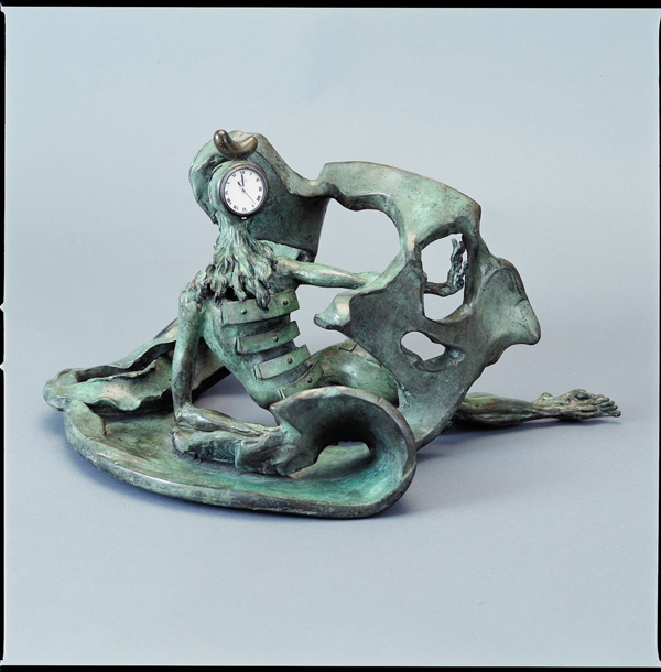 Orologio da tavolo «La Prémonition des tiroirs», Salvador Dalí, Omega,