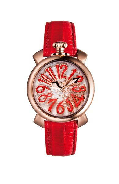 GaGà Milano Manuale 40mm Floating Rosso