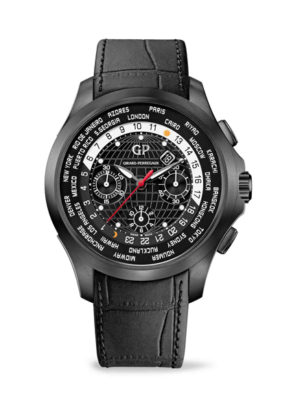 Girard-Perregaux Traveller WW.TC Titanium DLC