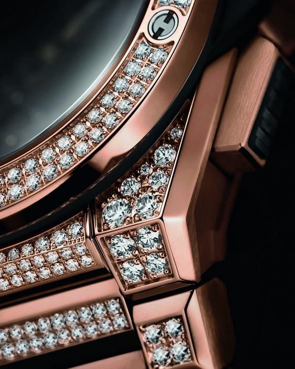 Hublot Big Bang Integral King Gold con diamanti