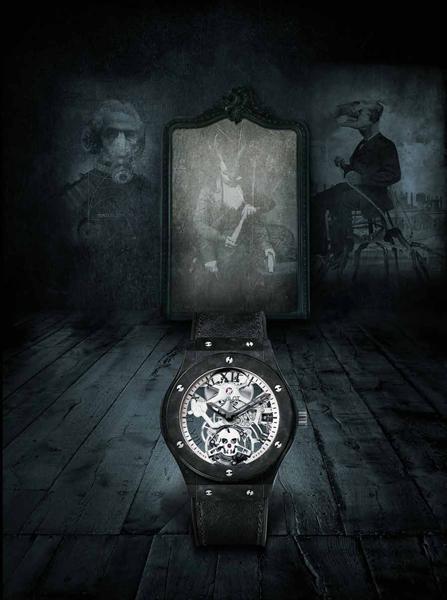 Hublot Tourbillon Skull - Copertina Revolution