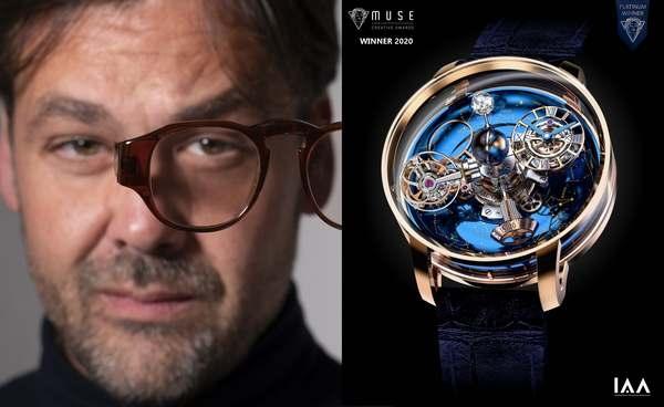 Danilo Petta, Platinum Winner, categoria orologi, IAA Muse Design Awards 2020