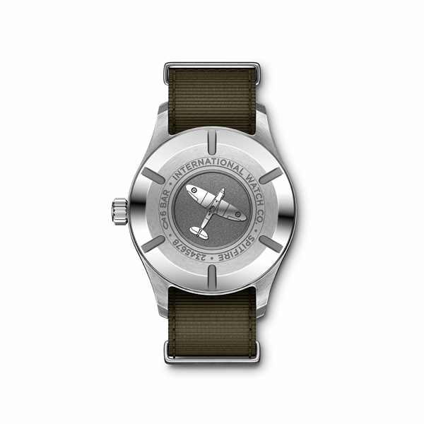 IWC Pilot's Watch Spitfire Automatico - fondello