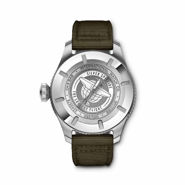 IWC Pilot's Watches  Timezoner Spitfire Edition The Longest Flight - fondello