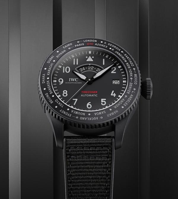 IWC Pilot's Watch Timezoner TOP GUN Ceratanium
