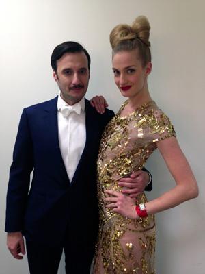 Matteo Ceccarini e Eva Riccobono