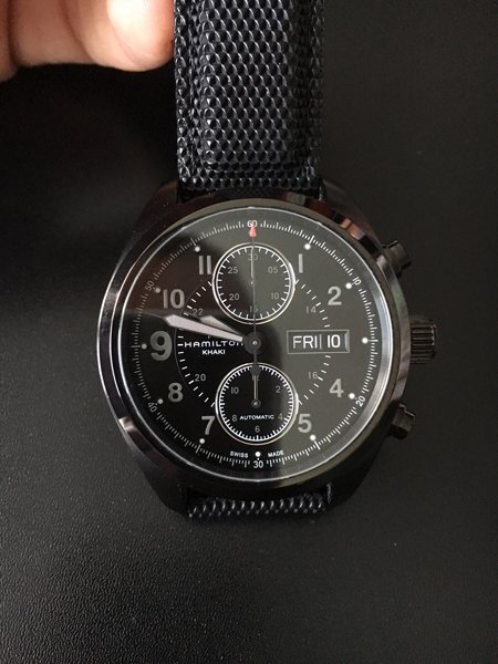 Hamilton Khaki Field Automatic Chronograph