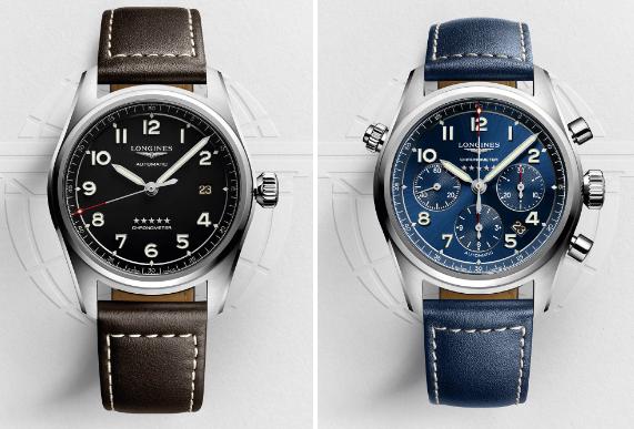 Time & date  e cronografo Longines Spirit