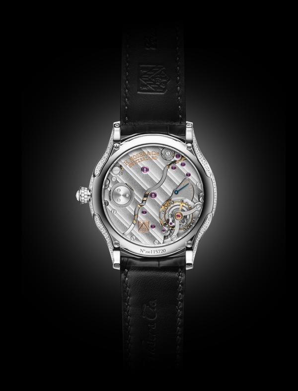 Moser & Cie Venturer Concept Vantablack® Diamonds - Fondello