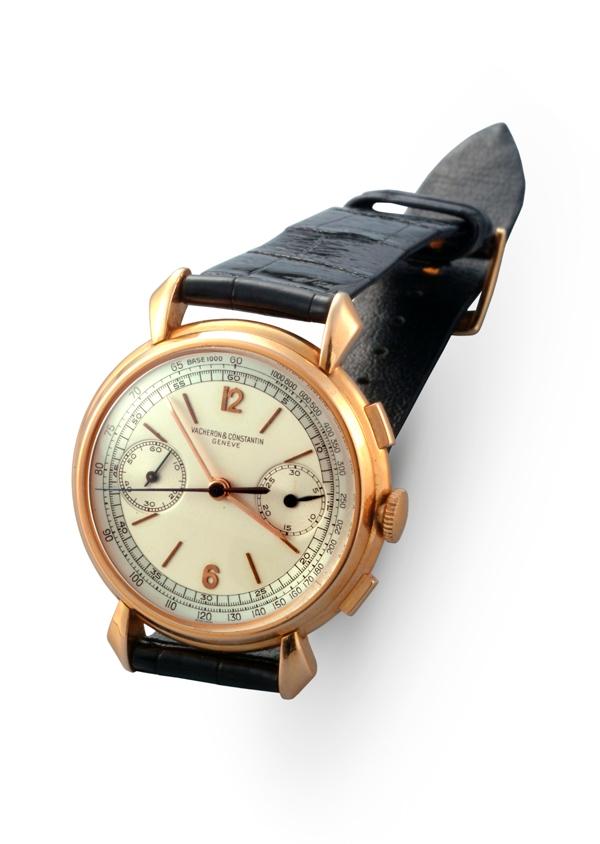 Vacheron Constantin - Cronografo da polso in oro rosa