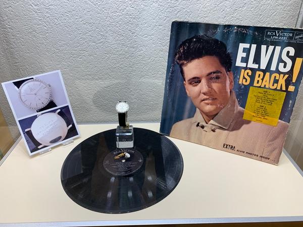 Museo OMEGA - Orologio di Elvis Presley