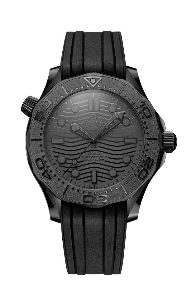 OMEGA Seamaster Diver 300 Black Black