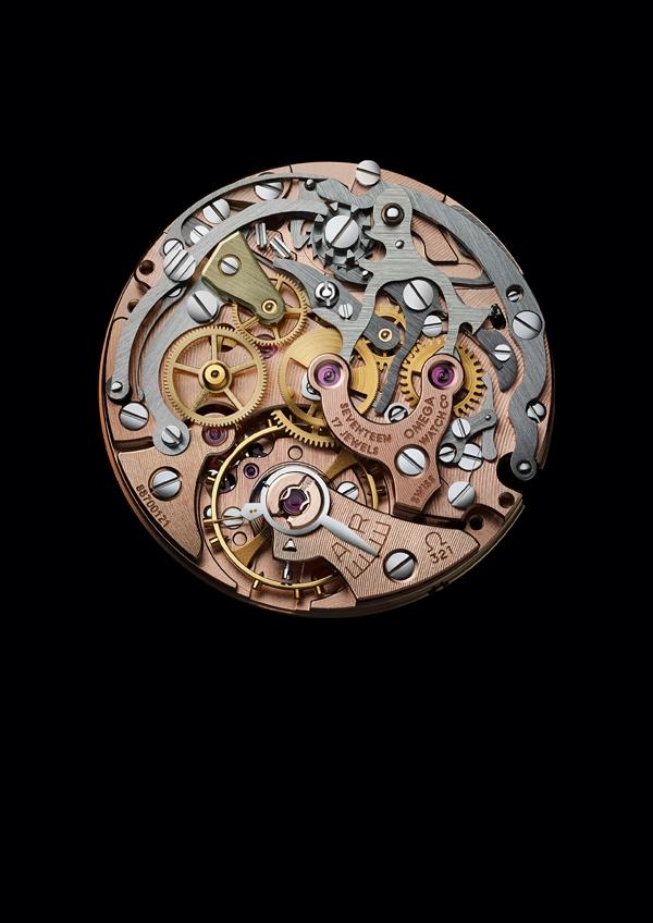 OMEGA Speedmaster Moonwatch 321 Platino - Movimento