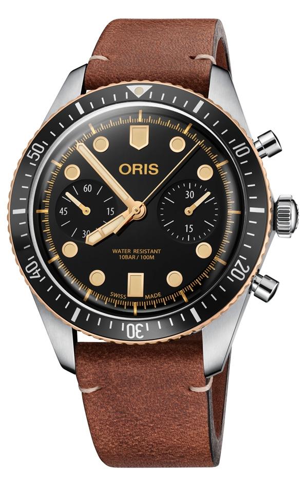 Oris Divers Sixty-Five Chronograph con cinturino
