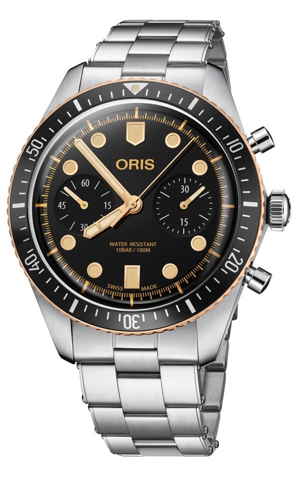 Oris Divers Sixty-Five Chronograph con bracciale