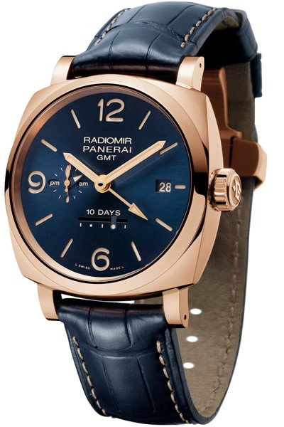 RADIOMIR 1940 10 DAYS GMT AUTOMATIC ORO ROSSO – 45mm