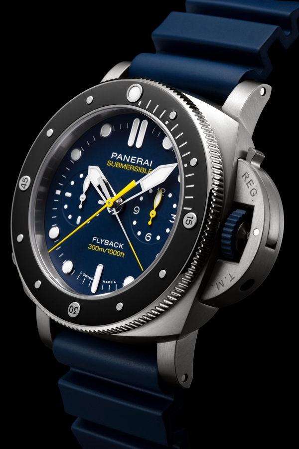 Panerai Submersible Chrono Flyback Mike Horn Edition