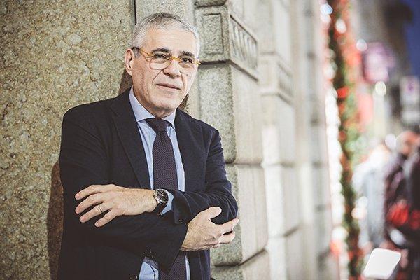 Fabio Bertini con al polso un IWC Portoghese