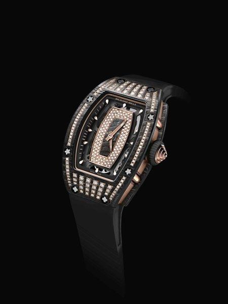 Richard Mille RM 07-01 in carbonio NTPT con diamanti