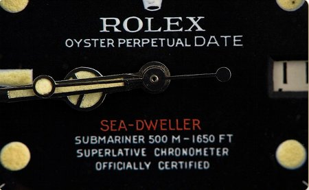 Rolex Sea-Dweller Red-Single