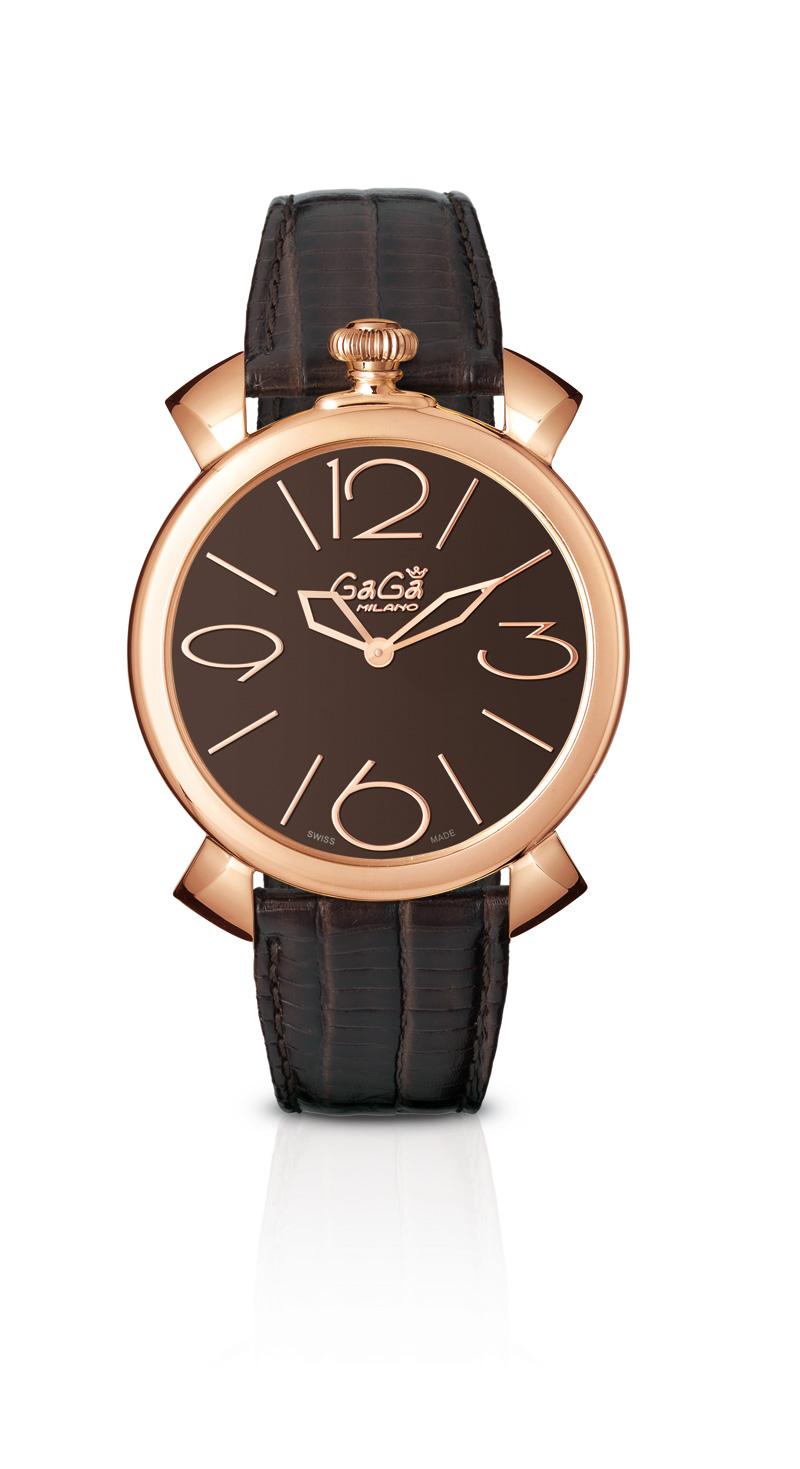 Orologio Gagà 46mm Oro Rosa