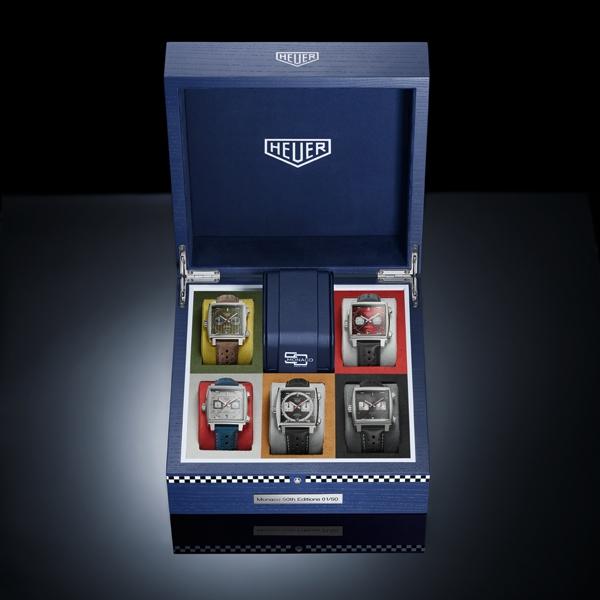 TAG Heuer  Monaco - Le 5 Limited Edition