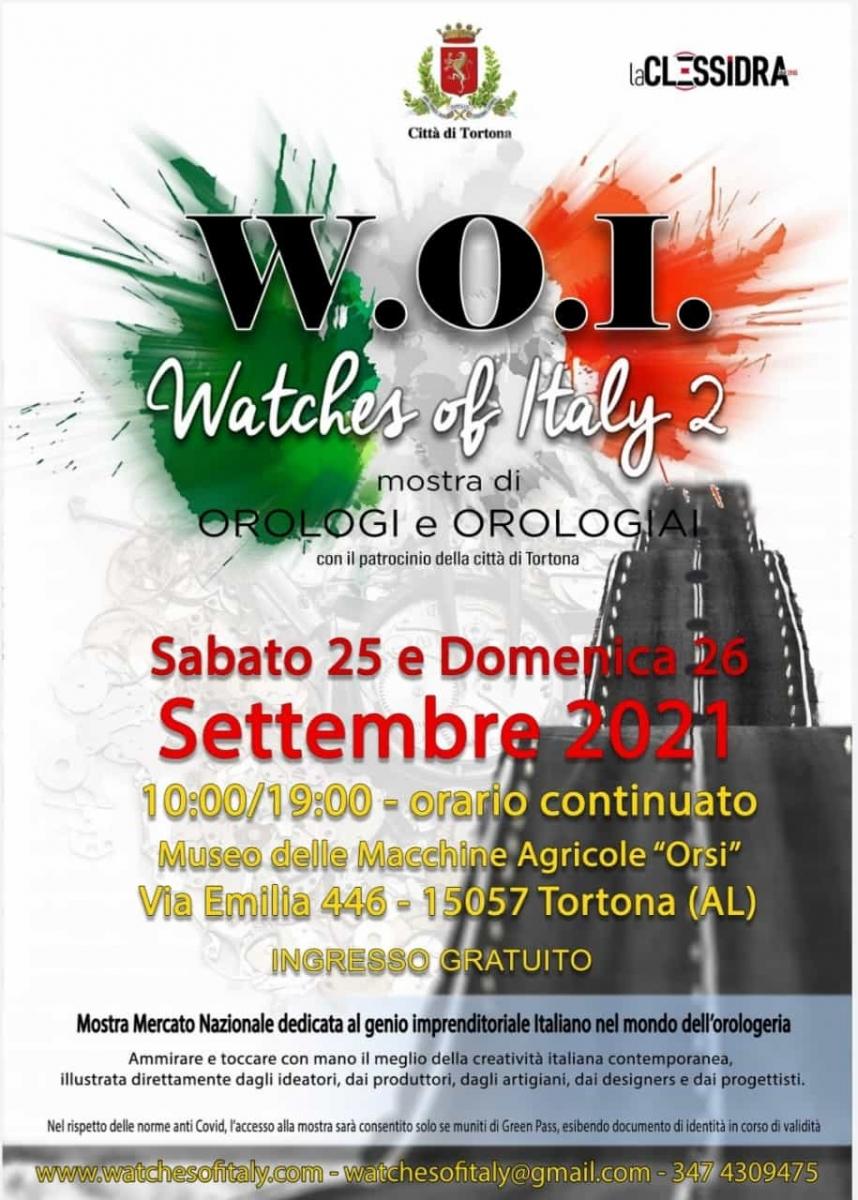 locandina_W.O.I. -Watches of Italy 2021