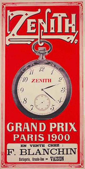 Zenith, 1900